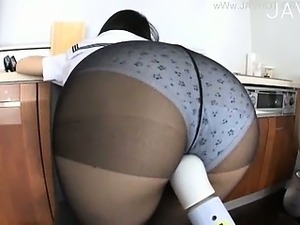 wife in stockings sex nylon tube