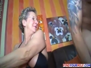 mother blows young son porn
