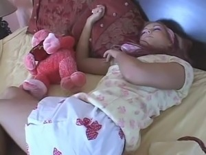 porntube sleeping blonde video