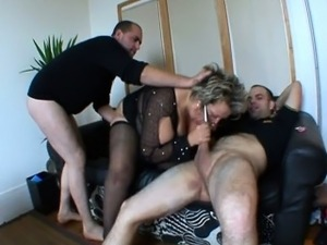 horny mature french fucking blacks