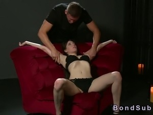 tied wife blowjob