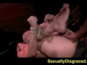 I could feel my pussy widen as he fucked me rough while bounded All I could...