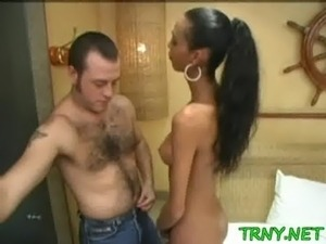 lingerie tranny handjob movie