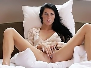 his cock touched her virgin pussy
