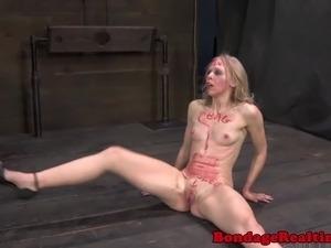 shocked pussy bdsm torture