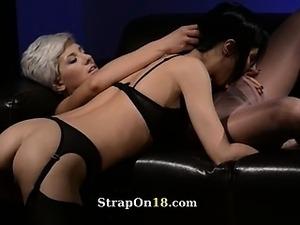 white penis black lesbian pussy