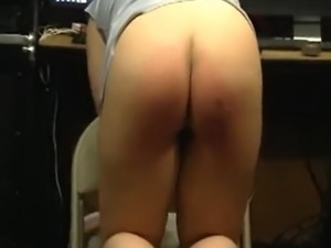 petite brunette tied up and spanked