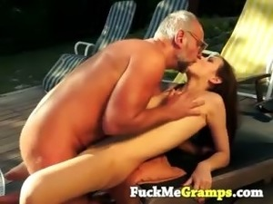 young girl fucked by grandpa
