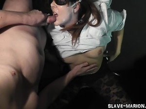 wife swallow cum filled pussy