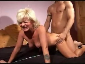 older blond fuck video