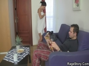 wife ruined her pussy as punishment