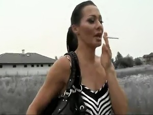 Brigitta bulgari double anal