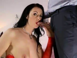 girlfriend lost bet blowjob