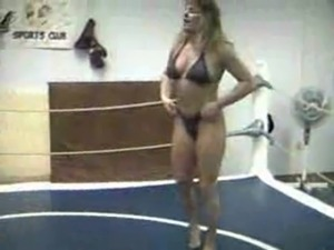 mixed erotic oil wrestling on xvideos