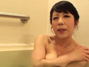 mature japanese house massage