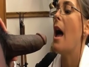 a girl sucking a s dick