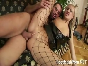 anal sex with nylons