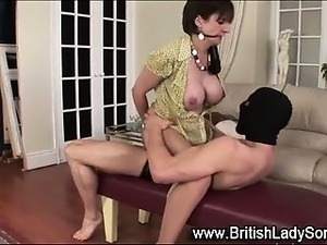 Busty british girl
