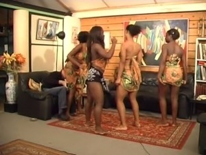 naked girls dancing on home video