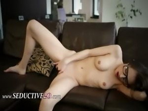 girls with glasses get fucked videos