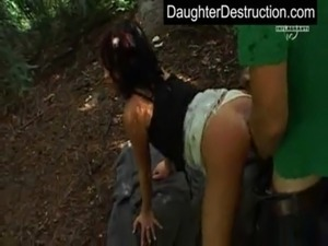 Young daughter fucked free