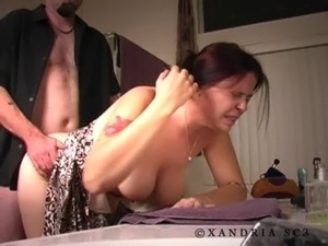 mmf bi sex strap on anal