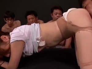 uncensored busty asian bukkake videos