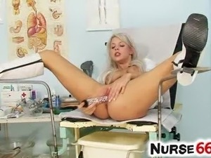 Hot naked nurse