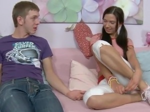 free young cream pie video