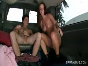 dick in ass bus