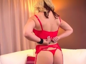 free blonde tits video