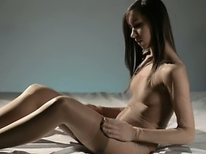 mature lesbians with strapon on bed