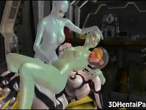 sex with big dicked space aliens