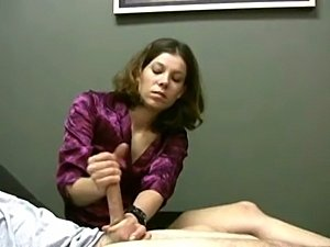 Male masturbation ejaculation