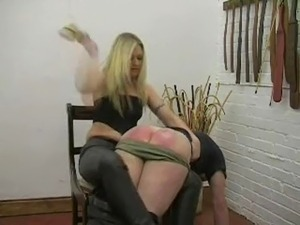 black ass spanked