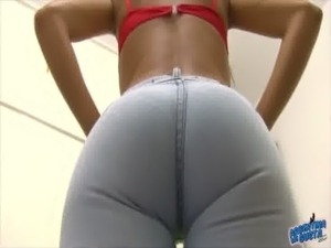 Busty Teen Cameltoe Wearing Jeans, Round Ass! free