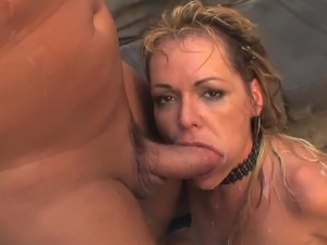 cumshot video blowjob facial