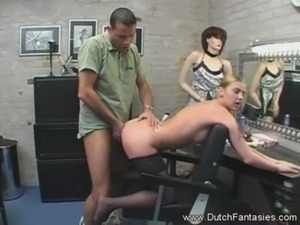 blonde dutch porn