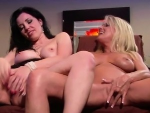 Milf Couple fingering each other
