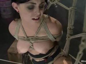 ebony black bondage bdsm
