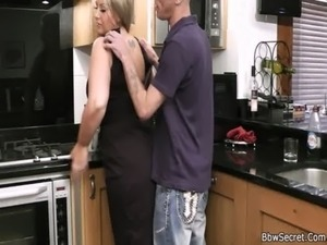 cheating wife gives blowjob