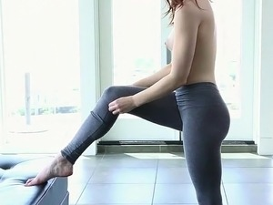 flexible girls lick themselves