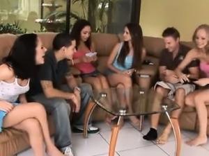 teens fuck after strip poker