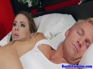 cum swallowing big tits videos