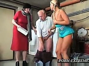 old man gang bang free video