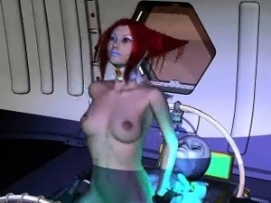 free alien cums on girl porn