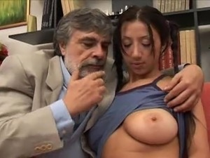hentai old man young girl videos