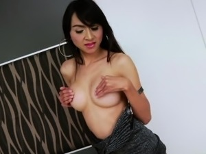 asian ladyboys love black cock