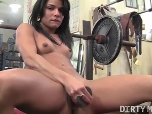 wife erotic gym