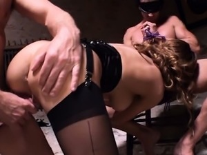 free sex pounding threesome
